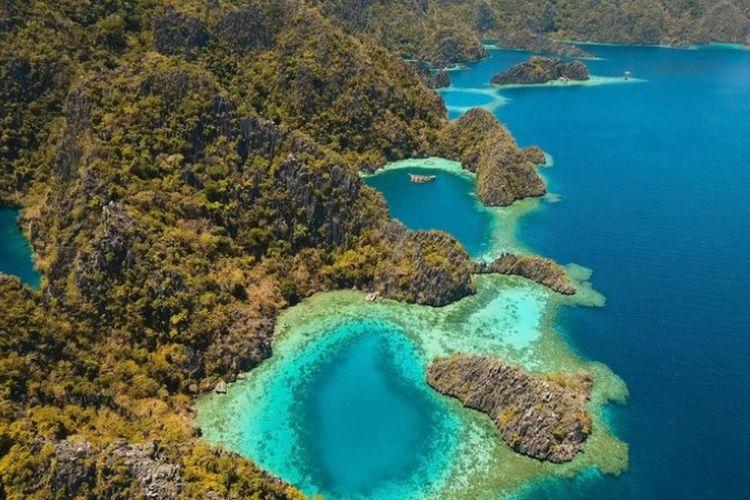 Sebuah pulau di wilayah kepulauan Filipina mendapat julukan sebagai Pulau Kuwait.
