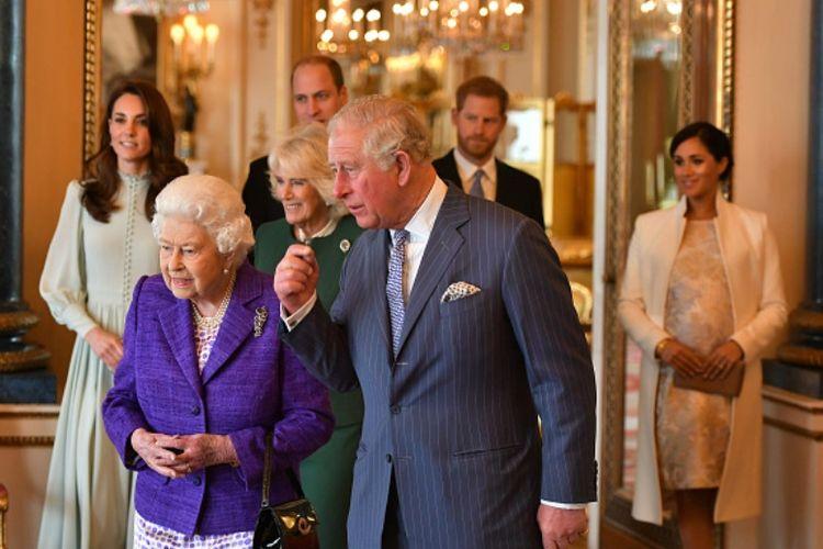 Acara resepsi perayaan 50 tahun peringatan Pangeran Charles menjadi Prince of Wales.