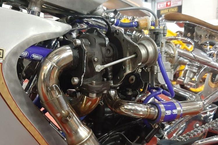 KTM Duke 200 dijejali turbocharger oleh GTX Motorcustom