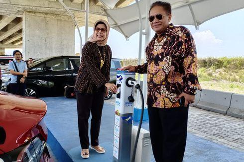 Stasiun Pengisian Kendaraan Listrik Tol Bali Mandara Disambut Antusias