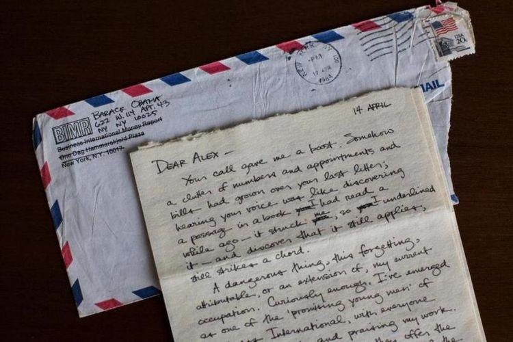 Ini Isi Surat Yang Ditulis Obama Muda Untuk Kekasihnya