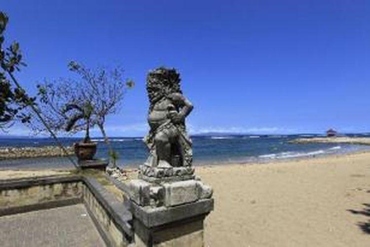 Pantai Sanur, Denpasar, Bali.