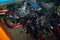 Avanza Tabrak Motor di Jalur Maut Sarangan, Diduga akibat Rem Blong