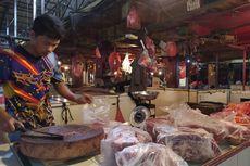Ketahuan Pakai Formalin, Pedagang Ayam di Pasar Anyar Tangerang Kabur Saat Disidak