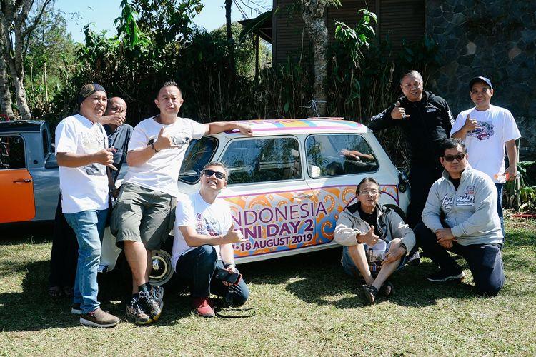 Indonesia Mini Day 2019 di Lembang, Bandung, Jawa Barat, 17-18 Agustus 2019. Digelar sekaligus dalam rangka 60 tahun Mini hadir di dunia.