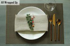 Bikin Pesta Malam Natal, Ini Tips Mendekor Meja Makannya...