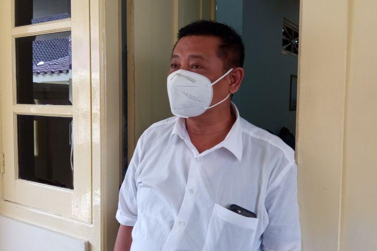 Kadarmanta Baskara Aji saat ditemui di kompleks kepatihan, Yogyakarta