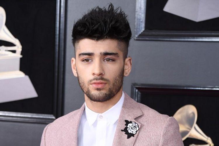 Penyanyi asal Inggris Zayn Malik menghadiri Grammy Awards 2018 di New York, pada 28 January 2018.