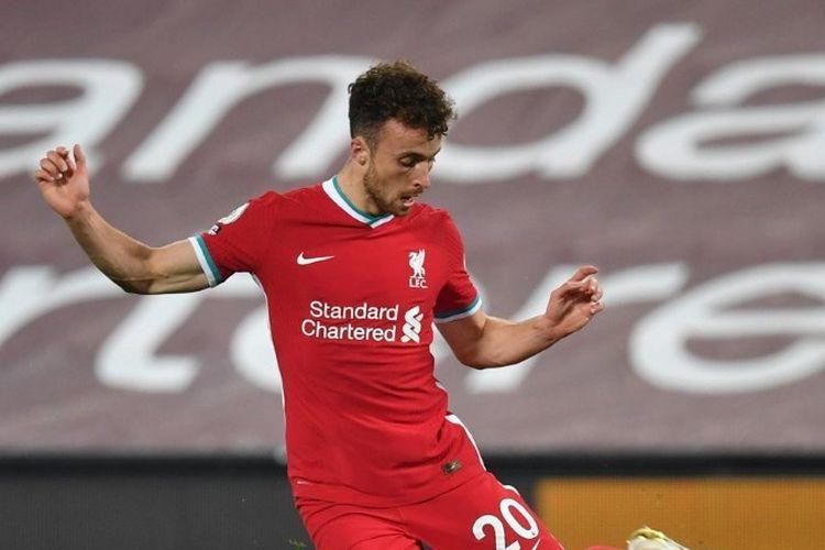 Penampilan Diogo Jota dalam laga Liverpool vs Arsenal, Selasa (29/9/2020) dini hari WIB.