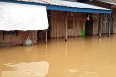 Diguyur Hujan Deras, 4 Kecamatan di Luwu Terendam Banjir