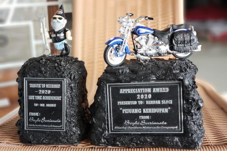 Boyke P Soerianata menggelar kegiatan coaching clinic untuk para teknisi sepeda motor.