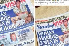 Menikah dengan 3 Pria Sekaligus, Perempuan Uganda Ini Jadi Pemberitaan Nasional