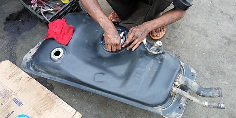 Perawatan tangki bahan bakar kendaraan