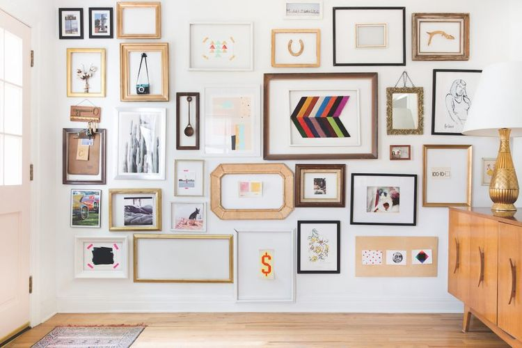 3 Tips Ciptakan Galeri Dinding di Rumah dan Toko Anda.