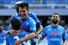 Hasil Napoli Vs Atalanta - Lozano Gemilang, Partenopei Menang Besar
