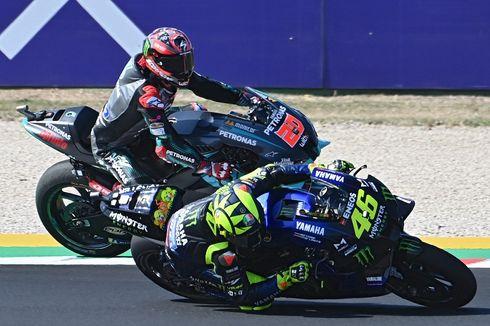Penyebab Valentino Rossi Terjatuh Lagi...