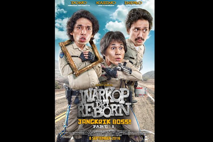 Poster film Warkop DKI Reborn 1.