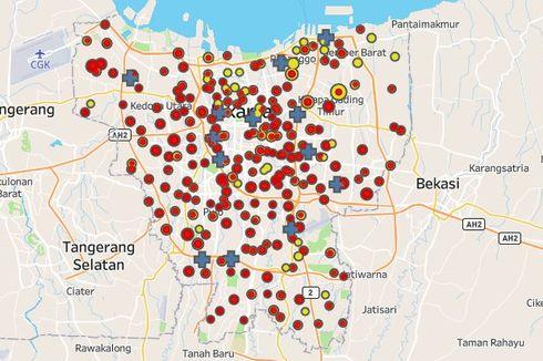 [UPDATE] 72 Pasien Positif Covid-19 Di Jakarta Pusat, Enam Kelurahan Masih Nol Kasus Positif