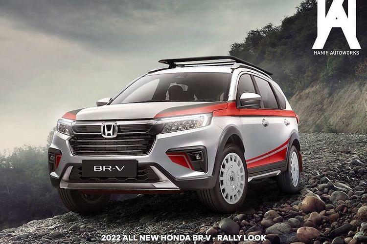 Modifikasi digital All New Honda BR-V