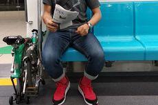 KAI Hanya Memperbolehkan Penumpang Bawa Sepeda Lipat di Kereta