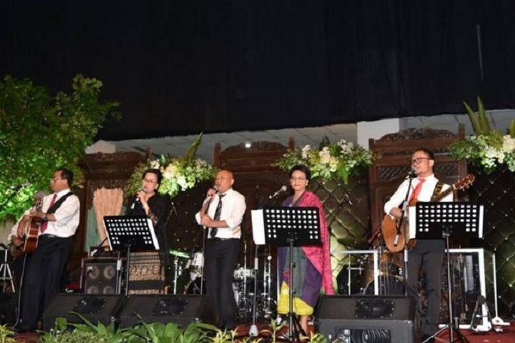 Elek Yo Band, band para menteri Kabinet Kerja RI