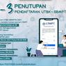 H-3 Penutupan UTBK-SBMPTN 2021, 6.627 Siswa Belum Simpan Permanen