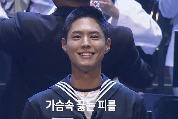 Jadi MC Konser AL Korea, Park Bo Gum Promosikan Record of Youth