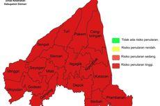 Kasus Covid-19 Meningkat, Seluruh Kecamatan di Sleman Zona Merah