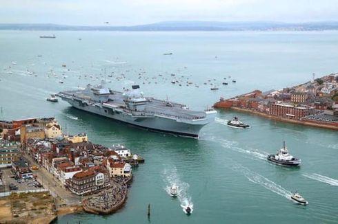 Berita Populer: Kapal Terbesar Inggris Bocor, hingga Seragam Pramugari Malaysia Dianggap Seksi