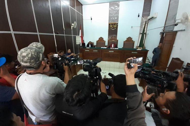 Sidang praperadilan di Pengadilan Negeri Jakarta Selatan dengan Kivlan Zen selaku pemohon, Senin (8/7/2019)