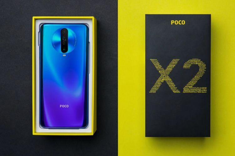 Penampakan ponsel Poco X2