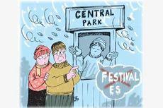 Festival Es di Central Park Dibatalkan karena Udara Terlalu Dingin