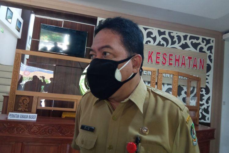 Kepala Dinas Kesehatan Banyuwangi dr Widji Lestariono, di kantornya, Senin (21/6/2021).