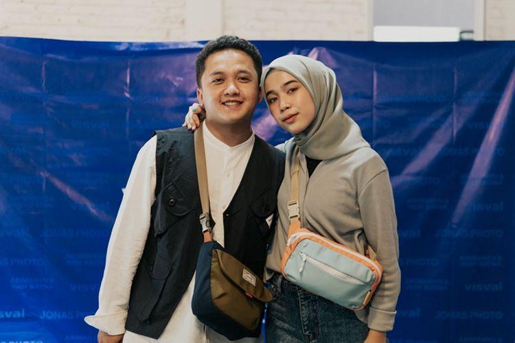 Visval x Abimanyu dan Visval x Indy Ratna di Visval Offline Store Bandung, Rabu (11/11/2020)