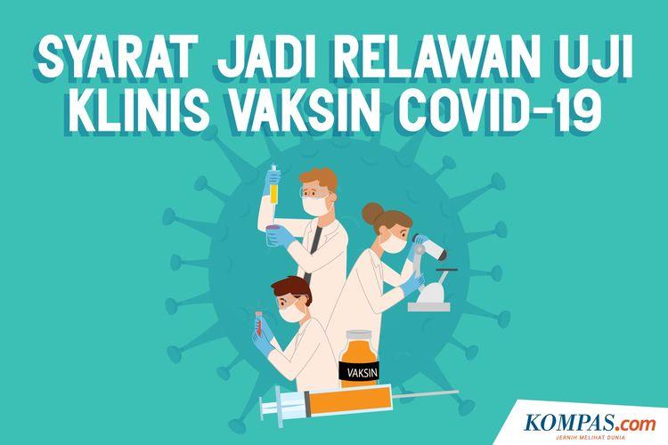 Syarat Jadi Relawan Uji Klinis Vaksin Covid-19