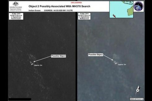 Australia Rilis 2 Foto Obyek yang Diduga Pesawat Malaysia Airlines