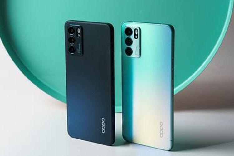 Ponsel Oppo Reno6 Series 5G.