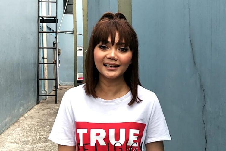 Rina Nose saat ditemui di kawasan Tendean, Jakarta Selatan, Senin (22/7/2019).