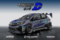 Ambil Tema Drifting, Ini Jawaran Modifikasi Virtual Honda Brio 2020
