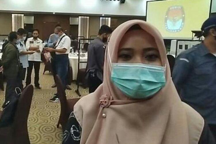 Ketua KPU Kota Banjarmasin, Rahmiyati Wardah.