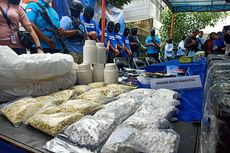 BNN Amankan 3 Juta Pil PCC dari Pabrik Narkoba di Lahan Pemkot Bandung