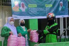 PC Fatayat NU Jaksel Bagikan 200 Paket Makanan untuk Pasien Covid-19 Isoman