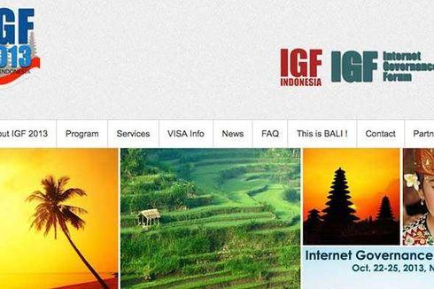 Forum Internet Dunia di Bali Resmi Dibuka