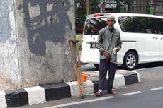 Pengemis Pincang di Senayan, Mendadak Lari Ketika Diamankan