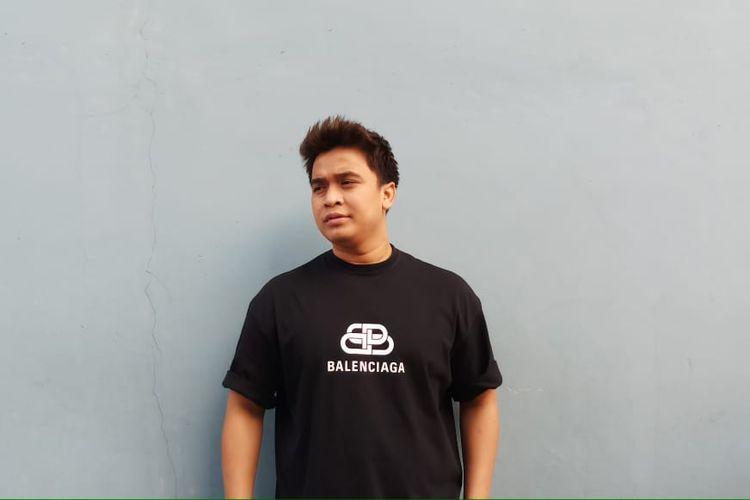 Pembawa acara Billy Syahputra saat ditemui di kawasan Tendean, Jakarta Selatan, Rabu (4/12/2019).