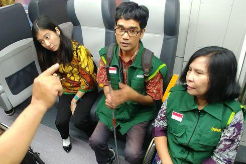Jajal Kereta Bandara, Jokowi Dapat Keluhan dari Disabilitas