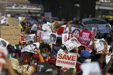 Militer Myanmar Gerebek dan Hancurkan Markas Besar Partai Aung San Suu Kyi di Yangon