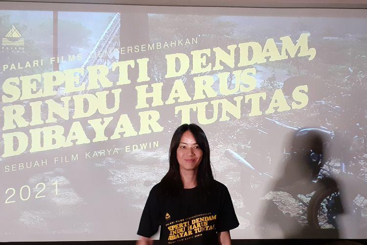 Ladya Cheryl saat ditemui di kawasan Kemang, Jakarta Selatan, Selasa (18/2/2020).