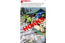[HOAKS] Foto Korban Gempa dan Tsunami di Palu Dijajarkan