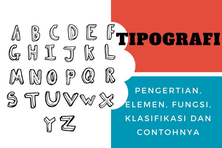 Ilustrasi tipografi